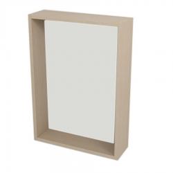 SAPHO - RIWA policové zrcadlo 50x70x15 cm, dub benátský (RW514)