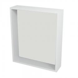 SAPHO - RIWA policové zrcadlo 60x70x15 cm, bílá (RW610)