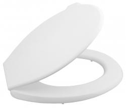 AQUALINE - WC sedátko, polypropylen, bílá (ATYPST262)