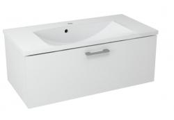 SAPHO - MAKALA umyvadlová skříňka 89,5x35x45,2 cm, bílá (ML090)