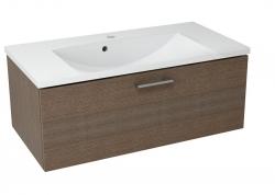 SAPHO - MAKALA umyvadlová skříňka 89,5x35x45,2 cm, borovice rustik (ML092)