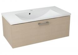 SAPHO - MAKALA umyvadlová skříňka 89,5x35x45,2 cm, dub benátský (ML094)