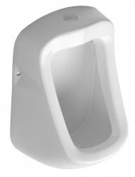 AQUALINE - KRUNA urinál s horním přívodem vody, 31x49,5 cm (ID400)
