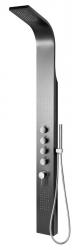 SAPHO - MESA sprchový panel 150x1680mm, černá (WN853)