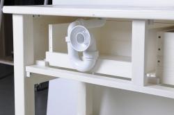 SAPHO - Koupelnový set BRAND 160, dvě umyvadla, starobílá (KSET-013), fotografie 26/13