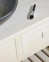 SAPHO - Koupelnový set BRAND 160, dvě umyvadla, starobílá (KSET-013), fotografie 10/13