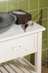 SAPHO - Koupelnový set BRAND 160, dvě umyvadla, starobílá (KSET-013), fotografie 6/13