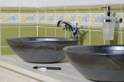 SAPHO - Koupelnový set BRAND 160, dvě umyvadla, starobílá (KSET-013), fotografie 22/13
