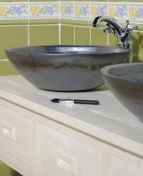 SAPHO - Koupelnový set BRAND 160, dvě umyvadla, starobílá (KSET-013), fotografie 18/13