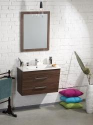 SAPHO - Koupelnový set KALI 75, ořech bruno (KSET-005)