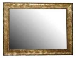 SAPHO - BERGARA zrcadlo v rámu 860x640mm, zlatá (NL526)