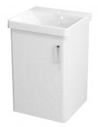 SAPHO - THEIA umyvadlová skříňka 46,4x70x44,2cm, 1xdvířka, bílá (TH051)