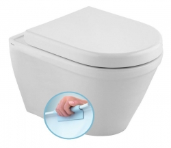 CLAUDIA WC závěsné 35,5x52cm, RIMLESS (71125364) - KALE