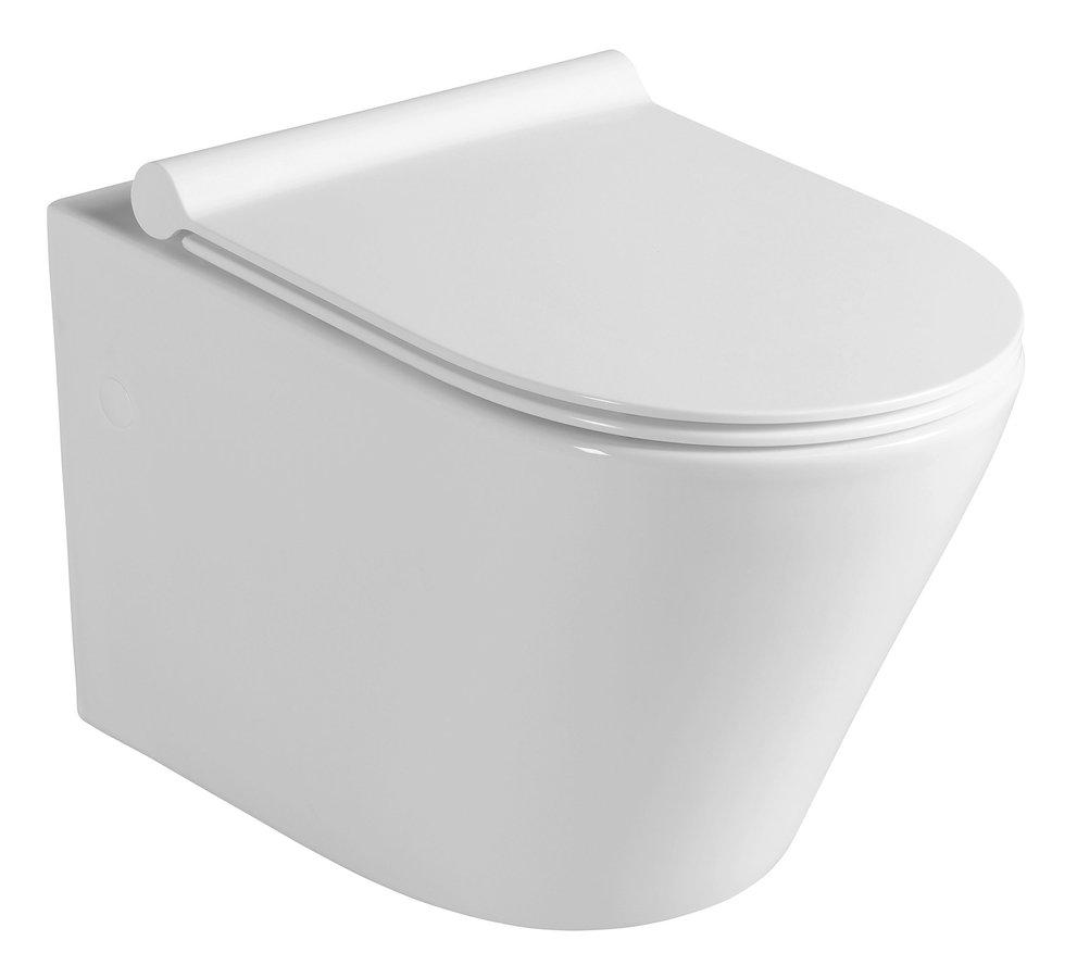 SAPHO PACO WC závěsné, 36x52,5 cm, WC sedátko Slim Soft Close PZ1012 Sapho