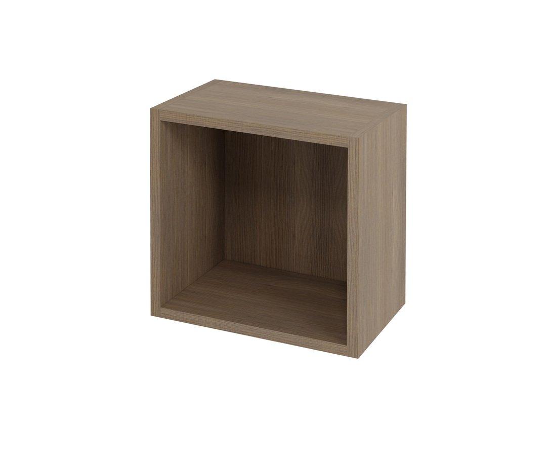 ESPACE otevřená policová skříňka 35x35x22cm, ořech bruno (ESP154)