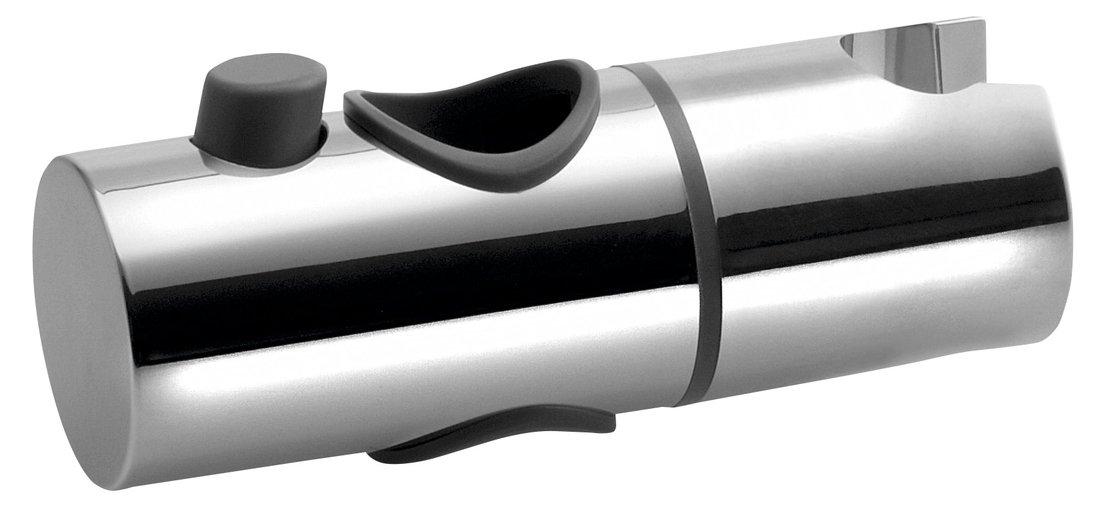 Náhradní jezdec pro sprchovou tyč 25 mm, ABS/ chrom NDLK139-01