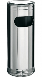 SAPHO - Odpadkový koš s popelníkem, chrom (XP016)