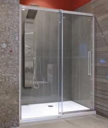 Aquatek - Admiral B2 - Luxusní sprchové dveře zasouvací 127-131cm, sklo 8mm, varianta levá (ADMIRALB2130-13)