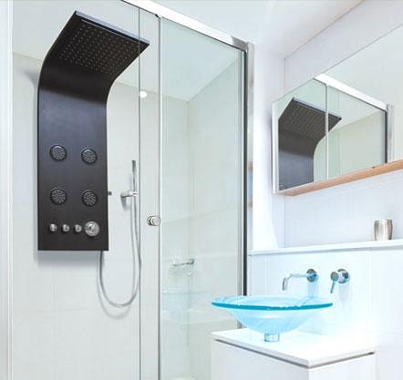 Aquatek - Bahamas Hydromasážní sprchový panel, baterie mechanická (Bahamas-24)