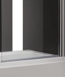 Aquatek - GLASS L1 80x140cm Vanová zástěna jednodílná, výplň sklo - čiré (GLASSL1-06), fotografie 4/3