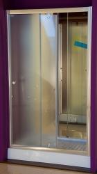 Aquatek - Master B5 100 Sprchové dveře do niky- 96,5-100,5cm, matné sklo (MASTERB5100), fotografie 12/10
