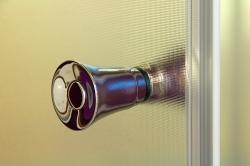 Aquatek - Master B5 100 Sprchové dveře do niky- 96,5-100,5cm, matné sklo (MASTERB5100), fotografie 18/10