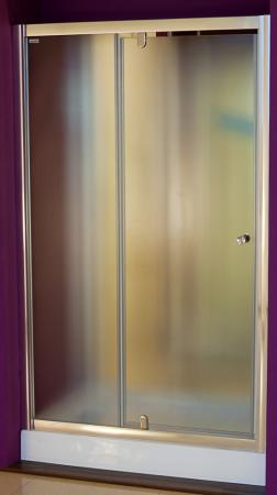 Aquatek - Master B5 115 Sprchové dveře do niky- 111,5-115,5cm, matné sklo (MASTERB5115)