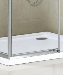 Aquatek - ADMIRAL R14 Chrom Luxusní sprchová zástěna obdélníková 100x80cm , sklo 8mm, varianta levá (ADMIRALR14-13), fotografie 6/4