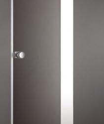 Aquatek - Glass B1 75 sprchové dveře do niky jednokřídlé 71-75cm, barva rámu bílá, výplň sklo - matné (GLASSB175-167), fotografie 2/7