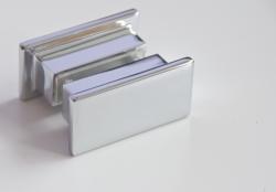 Aquatek - Glass B2 85 sprchové dveře do niky dvoukřídlé 82-86cm, barva rámu bílá, výplň sklo - matné (GLASSB285-167), fotografie 18/9