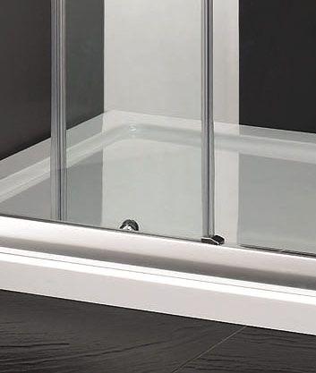 Aquatek - Master B2 sprchové dveře do niky zasouvací 131-135 cm, výplň sklo - matné (B2135-07)