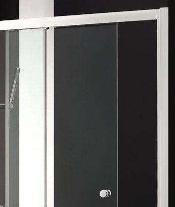 Aquatek - Master B2 sprchové dveře do niky zasouvací 136-140 cm, výplň sklo - matné (B2140-07)