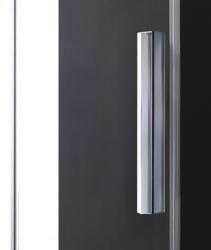 Aquatek - Nobel B2 - Luxusní sprchové dveře zasouvací s brzdou 112-116cm, sklo 8mm (NOBELB2115), fotografie 8/4
