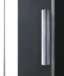Aquatek - Nobel B2 - Luxusní sprchové dveře zasouvací s brzdou 147-151cm, sklo 8mm (NOBELB2150), fotografie 8/4