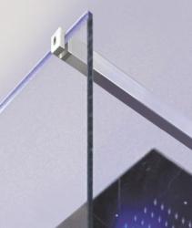 Aquatek - OASIS F1 120x200cm - Sprchová zástěna, výplň sklo - frost (OASISF1120-21), fotografie 2/4