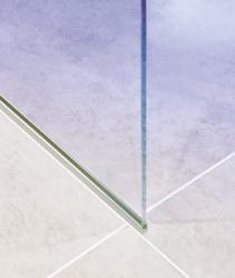 Aquatek - OASIS F1 120x200cm - Sprchová zástěna, výplň sklo - frost (OASISF1120-21), fotografie 4/4