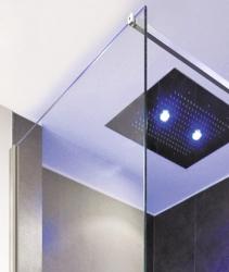 Aquatek - OASIS F1 120x200cm - Sprchová zástěna, výplň sklo - čiré (OASISF1120-06), fotografie 6/4