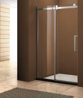 Aquatek Tekno B2 Luxusní sprchové dveře zasouvací 116-120 cm, sklo 8mm, výška 195 cm TEKNOB2120-10