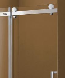 Aquatek - Tekno B2 - Luxusní sprchové dveře zasouvací 121-125 cm, sklo 8mm, výška 210 cm (TEKNOB2125-11), fotografie 4/4