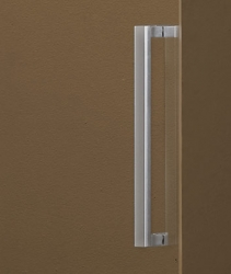 Aquatek - Tekno B2 - Luxusní sprchové dveře zasouvací 126-130 cm, sklo 8mm, výška 195 cm (TEKNOB2130-10), fotografie 6/4