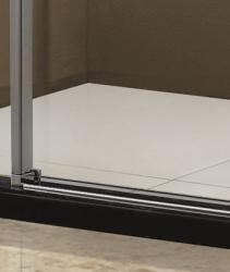 Aquatek - Tekno B2 - Luxusní sprchové dveře zasouvací 126-130 cm, sklo 8mm, výška 195 cm (TEKNOB2130-10), fotografie 8/4