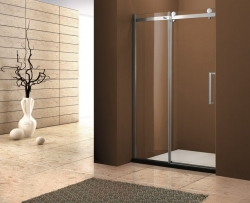 Aquatek - Tekno B2 - Luxusní sprchové dveře zasouvací 126-130 cm, sklo 8mm, výška 210 cm (TEKNOB2130-11), fotografie 2/4