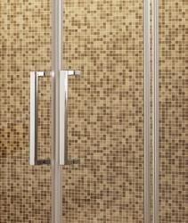 Aquatek - Tekno B4 - Luxusní sprchové dveře zasouvací 170-174 cm, sklo 8mm (TEKNOB4174), fotografie 4/4