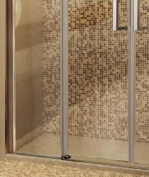 Aquatek - Tekno B4 - Luxusní sprchové dveře zasouvací 170-174 cm, sklo 8mm (TEKNOB4174), fotografie 8/4