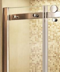Aquatek - Tekno B4 - Luxusní sprchové dveře zasouvací 170-174 cm, sklo 8mm (TEKNOB4174), fotografie 6/4