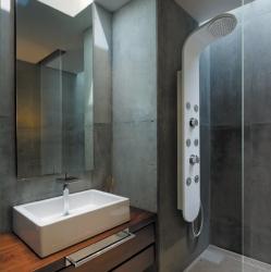 Tobago Hydromasážní sprchový panel, baterie termostatická (Tobago-25) - Aquatek