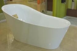 Aquatek - Volně stojící akrylátová vana BEVERLY 180x82 cm (BEVERLY), fotografie 4/4