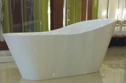 Aquatek - Volně stojící akrylátová vana BEVERLY 180x82 cm (BEVERLY), fotografie 6/4