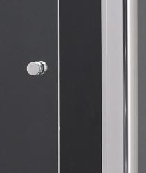 Aquatek - MASTER R33 Chrom Sprchová zástěna obdélníková 120x90cm, barva rámu bílá, výplň sklo - čiré (MASTERR33-166), fotografie 6/3