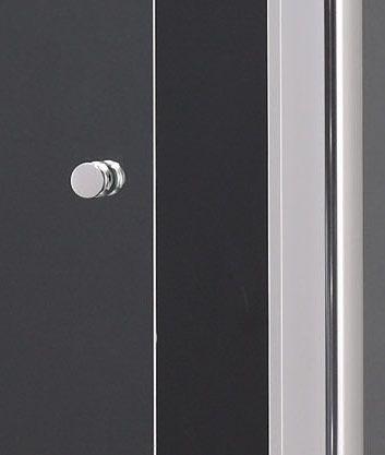 Aquatek - MASTER R33 Chrom Sprchová zástěna obdélníková 120x90cm, barva rámu bílá, výplň sklo - matné (MASTERR33-167)